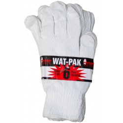 White Knight Wat-Pak 6 Cotton Watson Gloves
