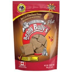 Benny Bullys Beef Liver & Sweet Potato Treat