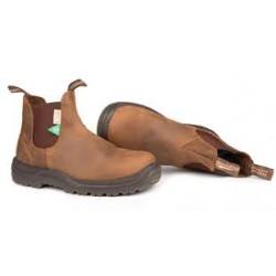 Steel Toe CSA Crazy Horse Brown