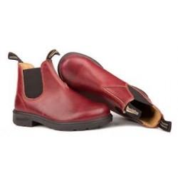 Leather Lined 1431 Burgundy Rub