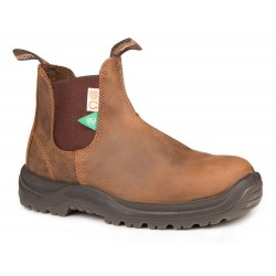 Steel Toe CSA Crazy Horse Brown
