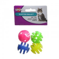 Spot Slotted Balls- Cat Toy