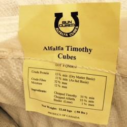 Alfalfa/Timothy Cubes