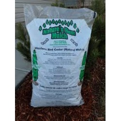 Mountain Bark Premium Red Cedar Mulch Bag